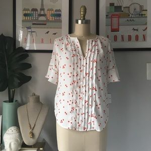 Ann Taylor•Daisy Print Blouse